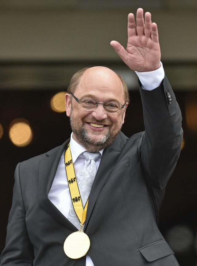 Na snímke predseda EP Martin Schulz