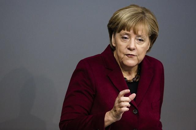 Angela Merkelová vystúpenie Bundestag zasadnutie