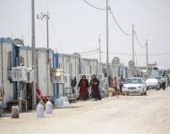 V Erbile sú desiatky táborov v ktorých je viac ako 30 000 kresťanov a desiatky tisíc jezídov a moslimov