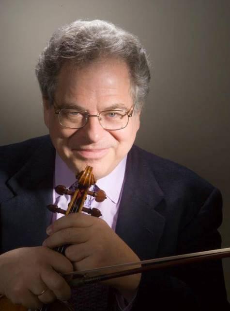 Na snímke americký huslista izraelského pôvodu Itzhak Perlman