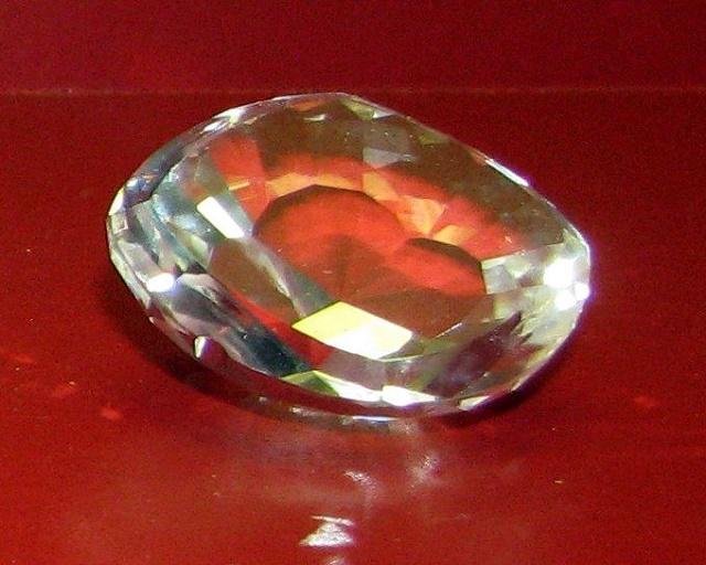 Na snímke kópia diamantu Koh-i-noor z Krištáľovej ríše múzea v Mníchove. Originál je v britskom Toweri