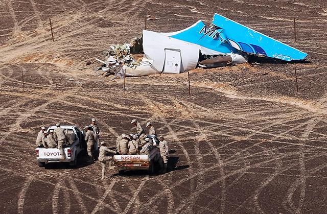 gypt nenašiel dôkazy, že zrútenie ruského lietadla nad Sinajom spôsobil útok