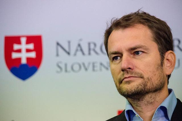 Na snímke predseda hnutia OľaNO Igor Matovič