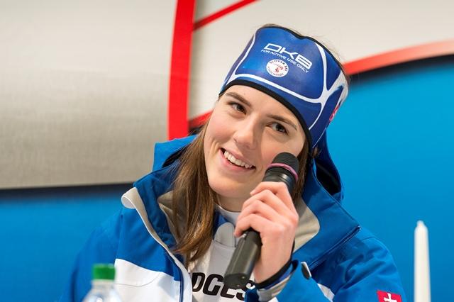 Na snímke slovenská reprezentantka v alpskom lyžovaní Petra Vlhová