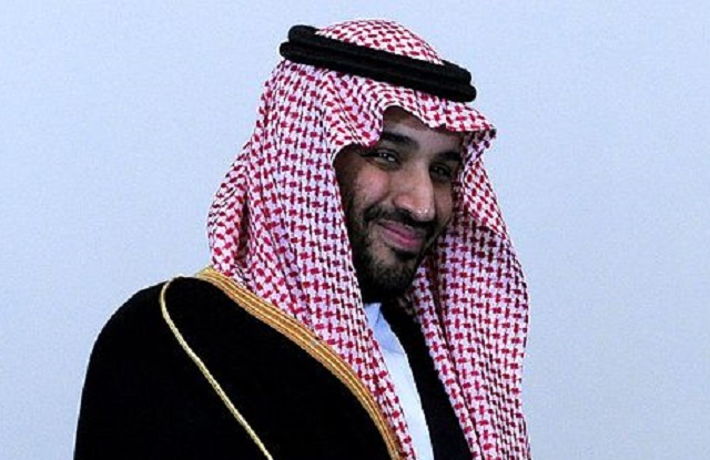 Na snímke iniciátor novej protiteroristickej koalície, saudskoarabský korunný princ a minister obrany Mohammad bin Salman Al Saud