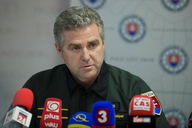 Na snímke prezident Policajného zboru (PZ) SR Tibor Gašpar