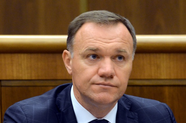 Na snímke minister zdravotníctva SR Viliam Čislák