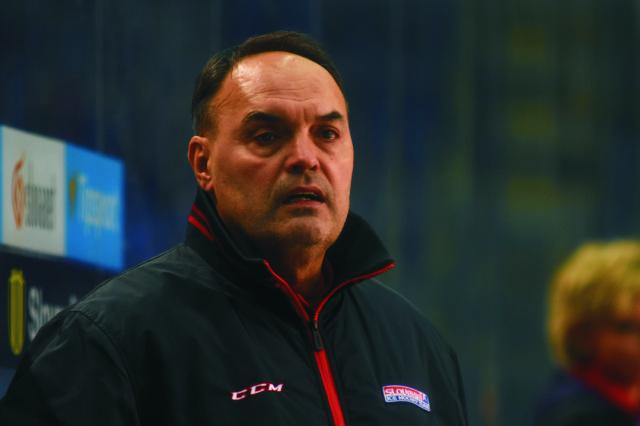 Na snímke tréner Slovenska Ernest Bokroš