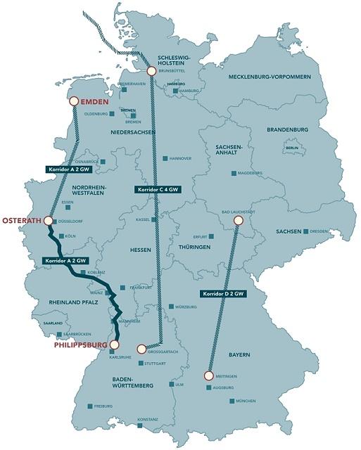 Takto vyzerá plán troch nových severojužných elektrických vedení (koridorov)