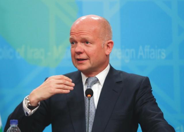 Britský minister zahraničných vecí William Hague