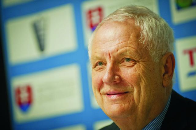 Na snímke prezident Európskej atletiky (EA) Svein Arne Hansen