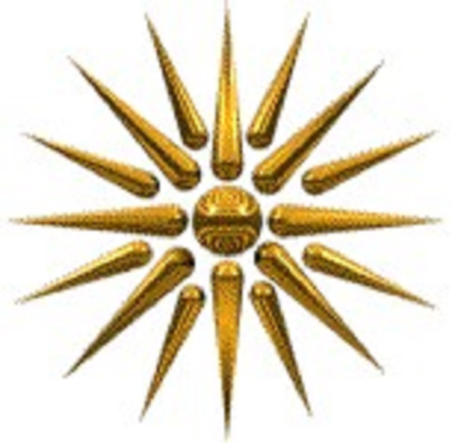 Symbol Macedónie - Verginske slnko