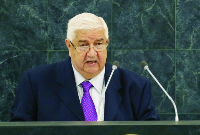 Sýrsky vicepremiér Walíd Mualim