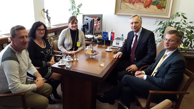 Na snímke predseda KDH Ján Figeľ na stretnutí s SKSaPA