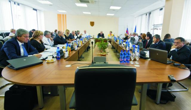 Archívna snímka zo zasadania Súdnej rady