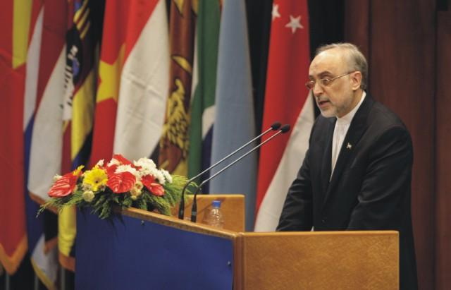 Iránsky minister zahraničných vecí Alí Akbar Sálehí