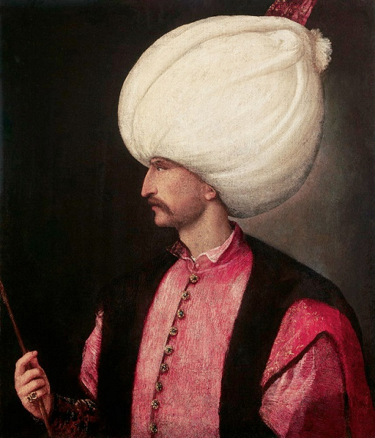 Osmanský sultán Sulejman I. Dobyvateľ (Veľký)