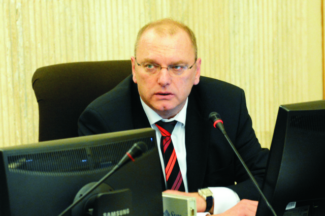 Na snímke Ľubomír Vážny