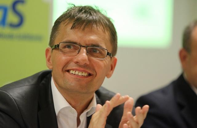 Na snímke podpredseda strany Sloboda a Solidarity (SaS) Ľubomír Galko