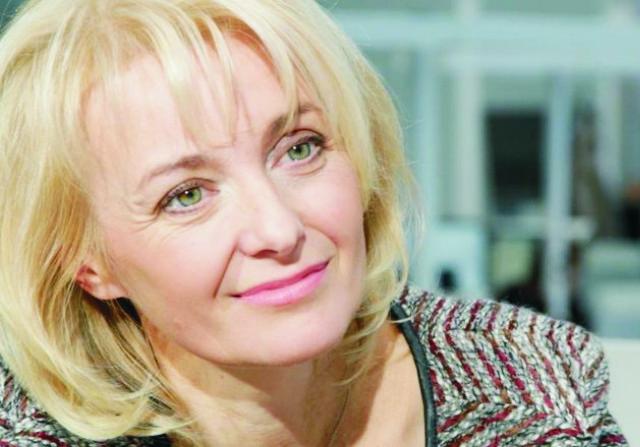 Na snímke česká herečka Veronika Źilková