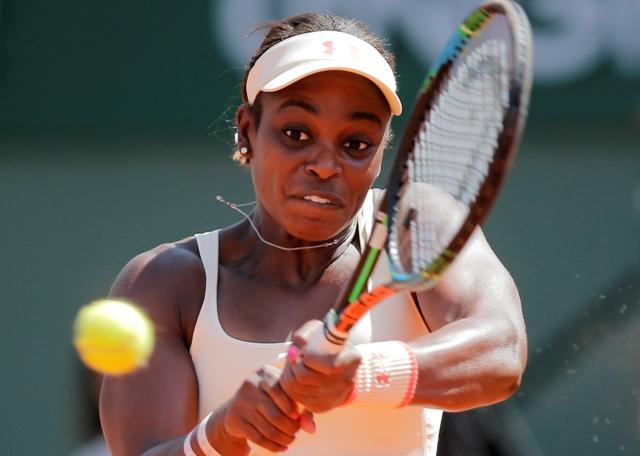 Na snímke americká tenistka Sloane Stephensová