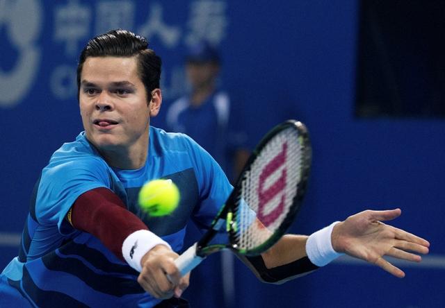 Na snímke kanadský tenista Miloš Raonič
