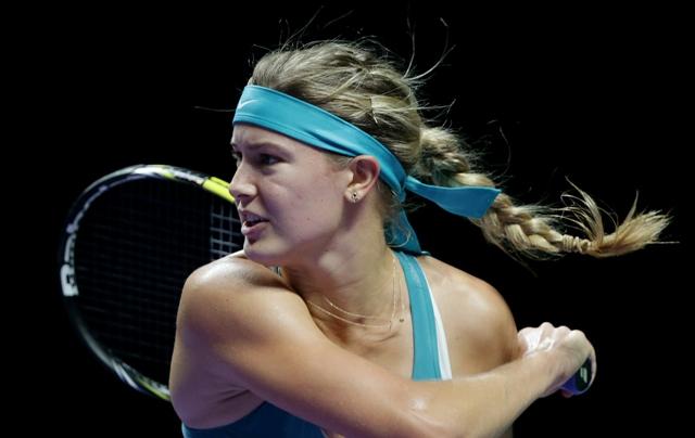 Na snímke kanadská tenistka Eugenie Bouchardová