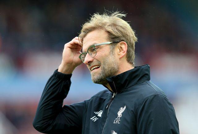 Na snímke tréner Liverpoolu Jürgen Klopp