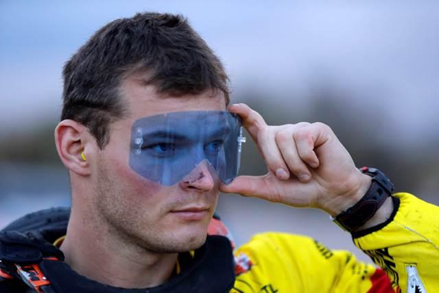 Na snímke slovenský motocyklový pretekár Štefan Svitko zo Slovnaft Teamu na stroji KTM