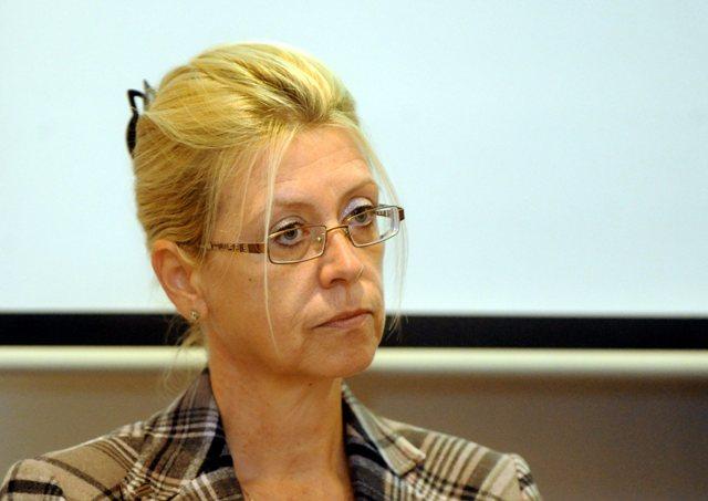 Na snímke Katarína Kafková z Asociácie na ochranu práv pacientov (AOPP)