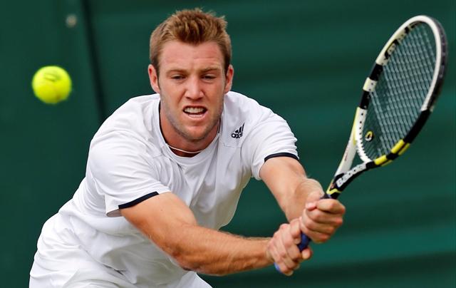Na snímke americký tenista Jack Sock