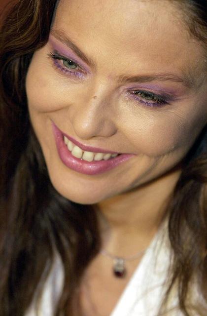 Na snímke herečka Ornella Mutiová