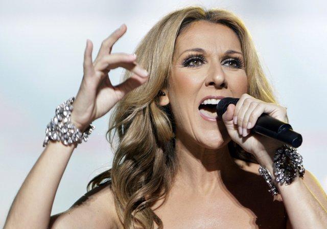 Na snímke Celine Dion