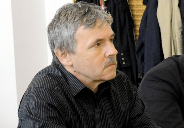 Na snímke publicista Juraj Hrabko