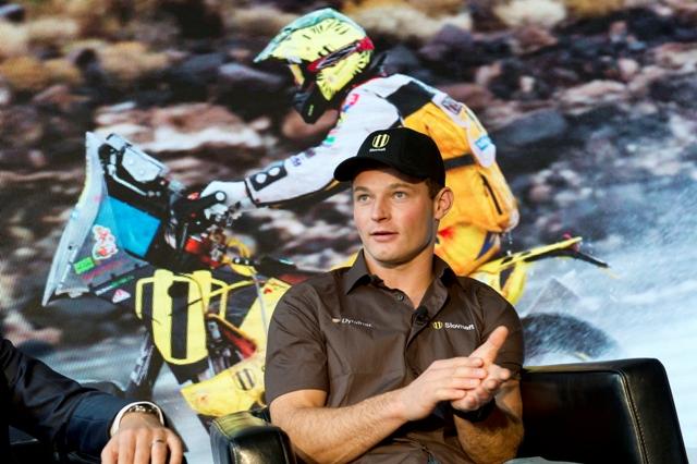 Na snímke slovenský motocyklový reprezentant Štefan Svitko