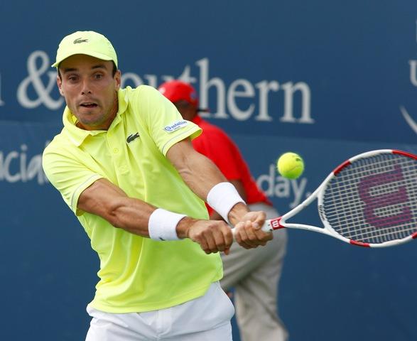 Na snímke španielsky tenista Roberto Bautista