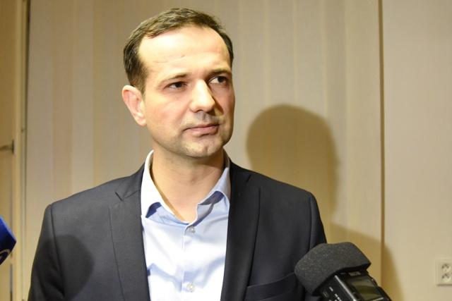 Na snímke riaditeľ Fakultnej nemocnice v Trnave Martin Neštický. Martin Neštický pred niekoľkými dňami povedal pre médiá, že chod nemocnice bude aj po odchode sestier vo výpovedi zabezpečený, primári dotknutých oddelení sú pripravení