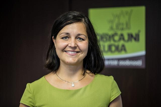 Na snímke podpredsedníčka parlamentu Erika Jurinová (OĽaNO)