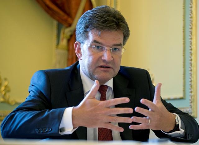 Na snímke šéf slovenskej diplomacie Miroslav Lajčák