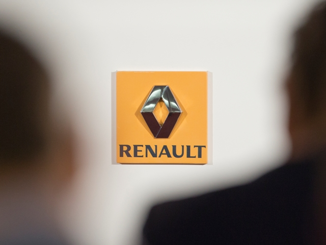 Na snímke logo automobilky Renault