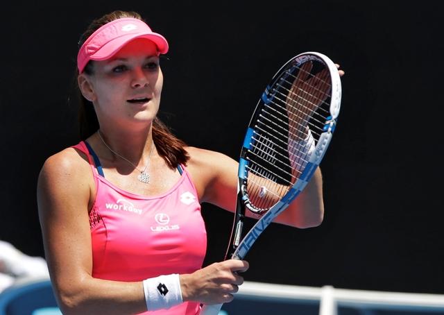 Na snímke poľská tenistka Agnieszka Radwaňská