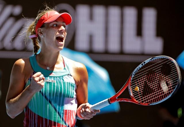 Na snímke nemecká tenistka Angelique Kerberová