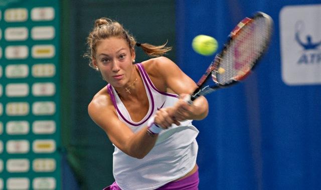 Na snímke slovenská tenistka Tereza Mihalíková