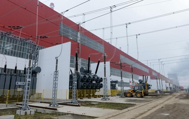 Na snímke dostavba tretieho a štvrtého bloku jadrovej elektrárne Mochovce (EMO34)
