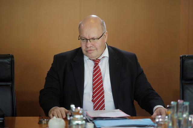 Na snímke šéf úradu nemeckej kancelárky a vládny koordinátor pre záležitosti migrácie Peter Altmaier