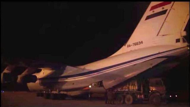 Letectvo Ozbrojených síl Ruska dopravilo pomoc obyvateľom a obrancom mesta Deir ez-Zor
