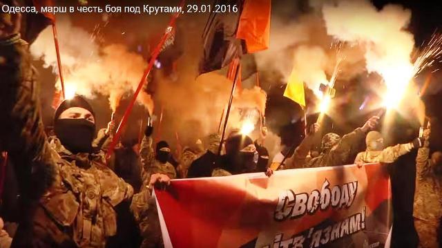 """Fakľový pochod na pamiatku """"historickej bitky pri Krutoch"""""""