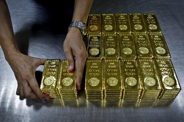 Prudké snížení zásob zlata: Newyorská burza ztratila 73 procent svých zlatých rezerv