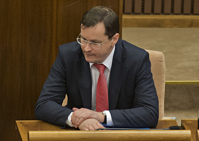 Na snímke minister školstva, vedy, výskumu a športu SR Juraj Draxler.