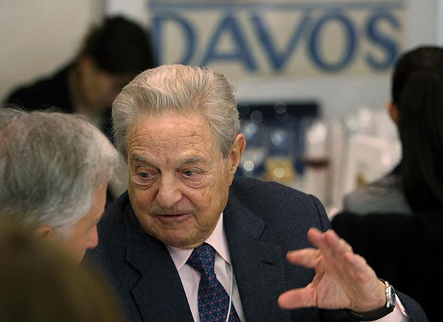 Na snímke americký finančník George Soros